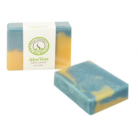 Handcrafted Aloe Vera and Lavender soap
