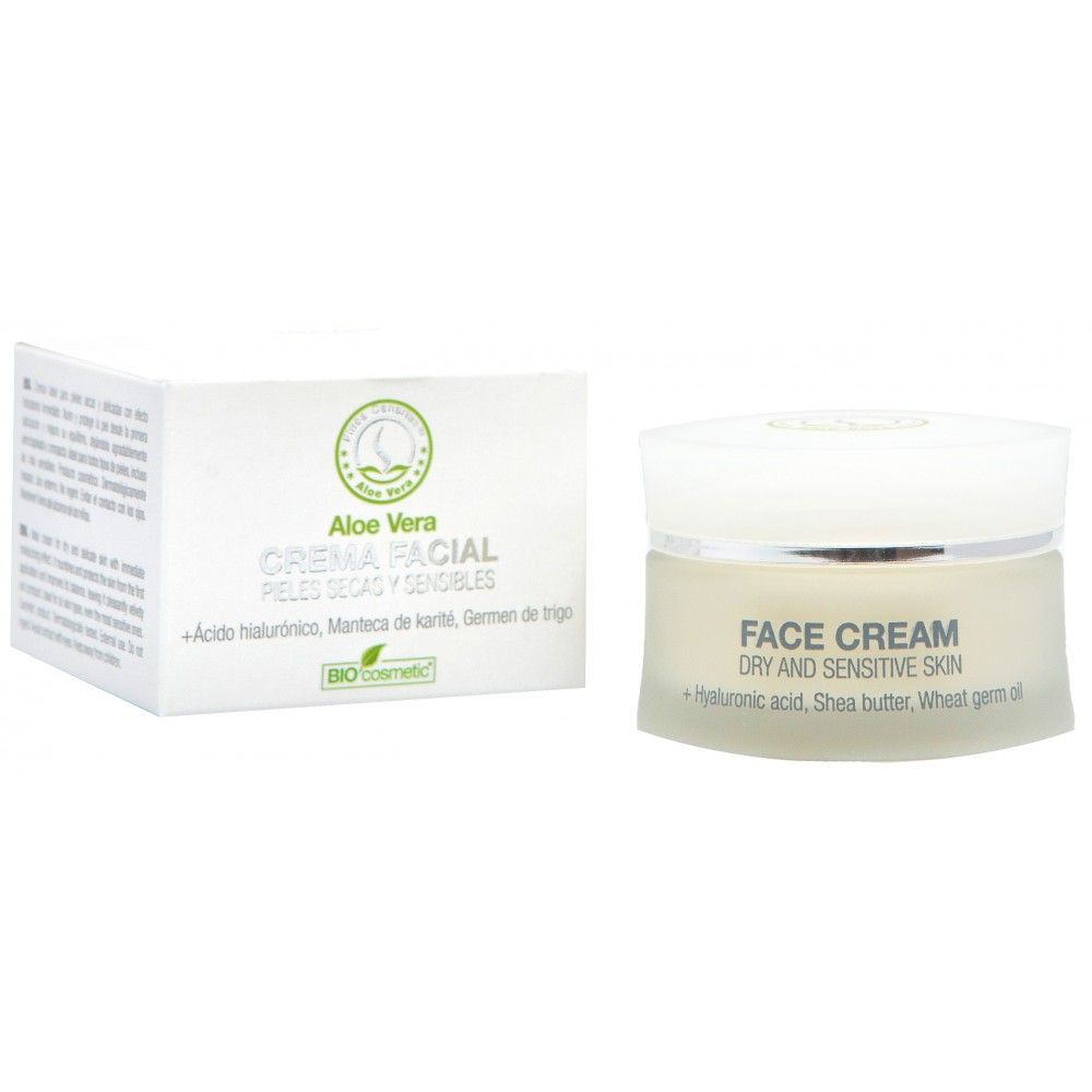 Face cream for dry and sensitive skin