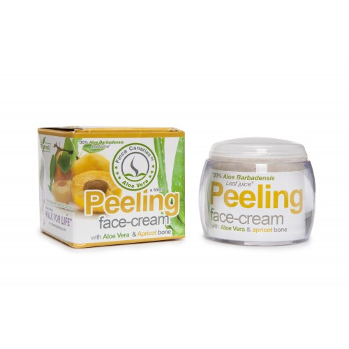Peeling with Apricot Kernel and Fresh Aloe Vera Juice