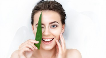 Aloe Vera for bags and dark circles around the eyes