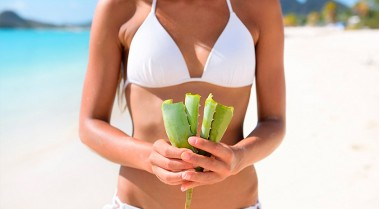 Aloe Vera for deep hydration