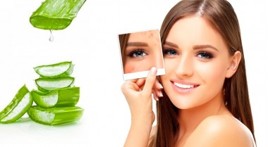 Aloe Vera to reduce scars and marks
